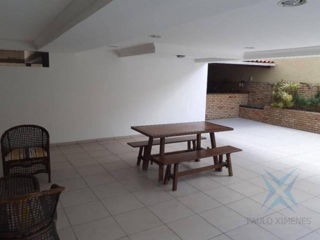 Apartamento com 3 dormitórios para locação ou venda, 150 m² por r$ 500.000 - meireles - fo - Foto 2