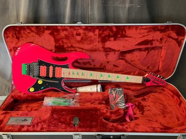 Ibanez Jem777 SP edição aniversário 30 anos Gibson Fender - Foto 2