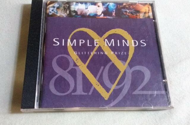 CD Simple Minds - Glitering Prize