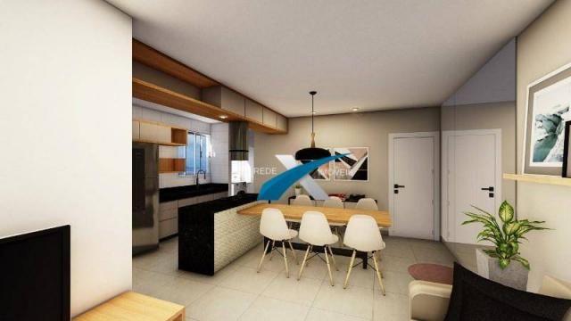 Apartamento com 3 dormitórios à venda, 80 m² por r$ 369.999 - havaí - belo horizonte/mg - Foto 9