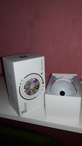 Lâmpada Espiã câmera Ip led Wi-Fi HD panorâmica 360° Celular - Foto 2