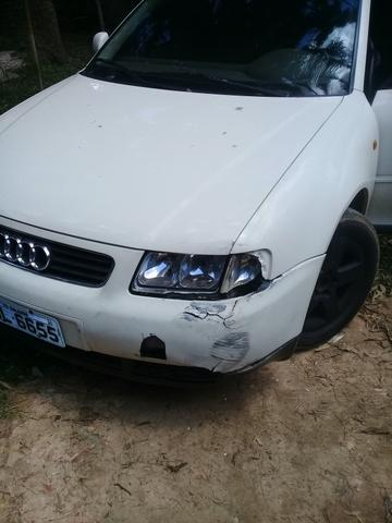 Audi a3 98 1.8 vendo ou troco (ler descrição) - Foto 5