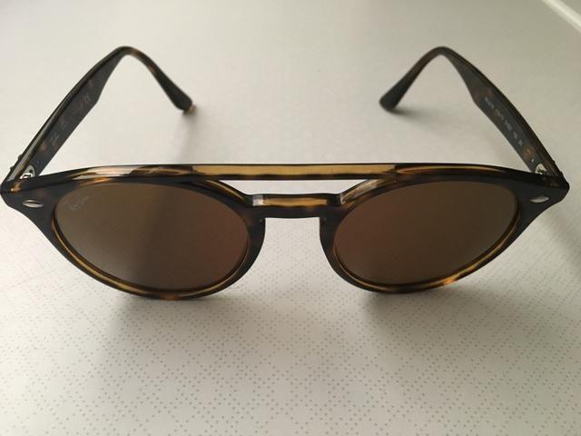 Óculos Ray-Ban Double Bridge Marrom - Bijouterias, relógios e ... 7e17db067b
