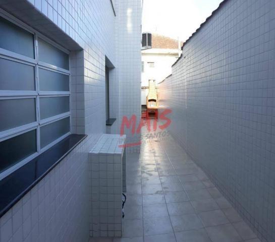 Casa com 3 dormitórios à venda, 105 m² - Ponta da Praia - Santos/SP - Foto 17