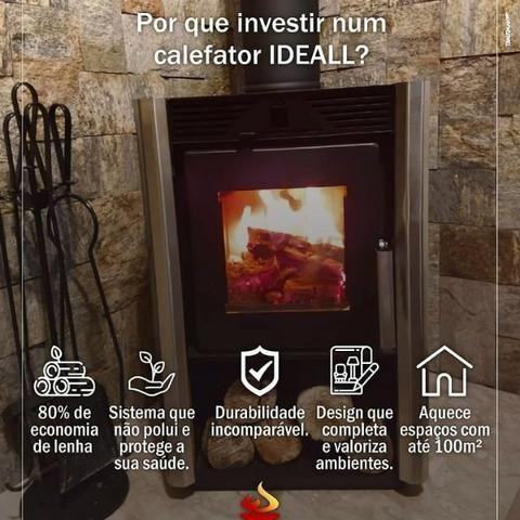 Calefator dupla combustão com ventilação forçada - Foto 2
