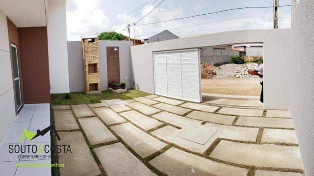 Pare de pagar aluguel! Casas com 3 quartos sendo 1 suíte com Documentação Grátis - Foto 2
