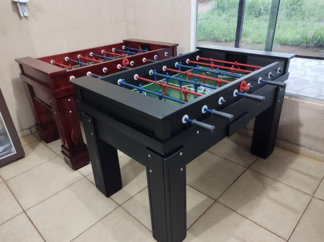 Troco mesa Sinuca Residencial/Pebolim/Ping pong Por Carro ou Moto - Foto 5