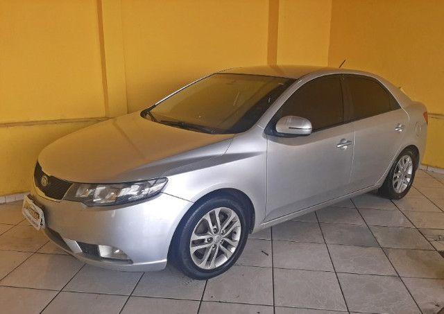 Kia Cerato EX3 1.6 Aut Completo Com Couro e IPVA 2021  pago!! - Foto 4