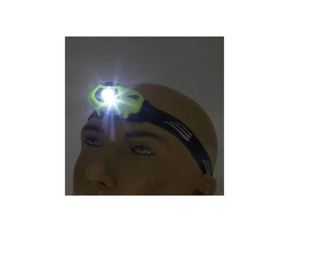 Lanterna de cabeça NTK potente e resistente a água de 70 lúmens Fiji - Foto 3
