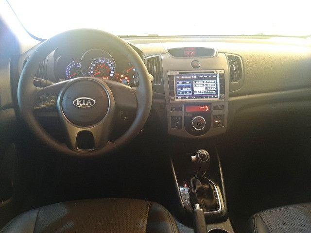 Kia Cerato EX3 1.6 Aut Completo Com Couro e IPVA 2021  pago!!! - Foto 9