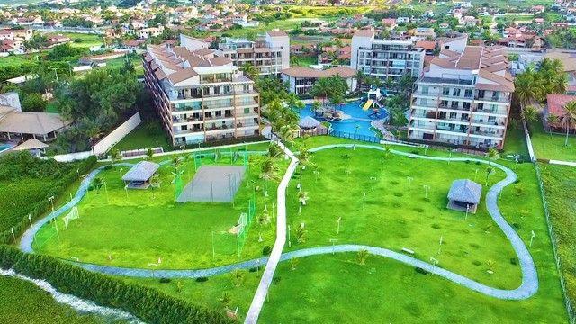 Apartamento Terreo de 3 quartos Pé na Areia Beach Living Porto das Dunas - Foto 11