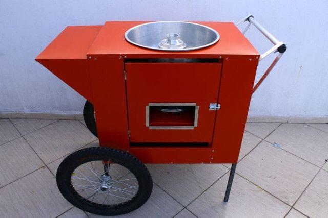 Carrinho De Algodao Doce Para Festa E Delivery Na Garagem - Foto 6
