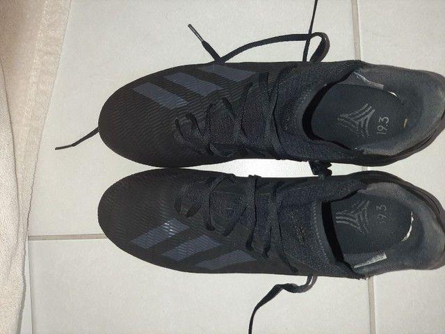 Chuteira Adidas Society x 19 3 Tf Preto<br><br> - Foto 3