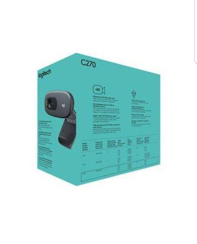 Webcam Logitech C270 Hd 720p Com Microfone - Foto 3