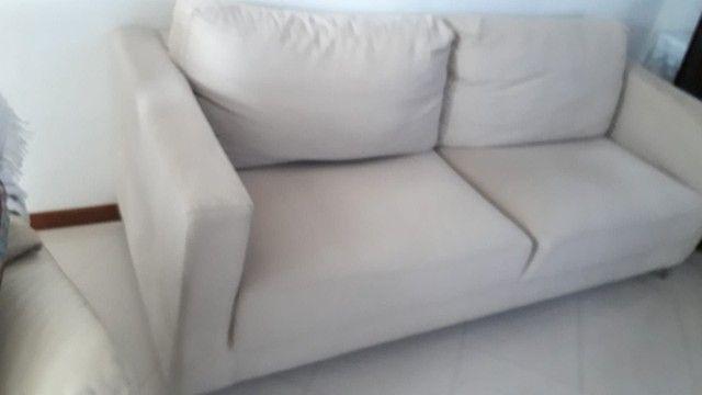 Sofa. Dóis metros e dez de comprimento. - Foto 4