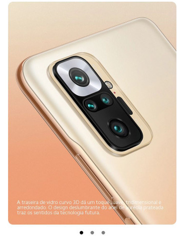 SÓ HOJE**Redmi Note 10 Pro 6/128 Nfc câmera 108mp Lançamento + Mi Band 5 - Foto 5