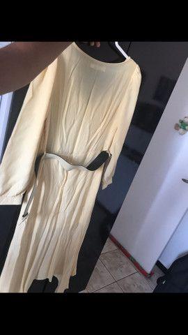 Vestido amarelo longo  - Foto 2