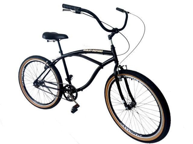 bicicleta aro 26 adulto, aros aero, cubos rolamento, freios alumínio