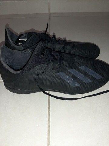 Chuteira Adidas Society x 19 3 Tf Preto<br><br> - Foto 5