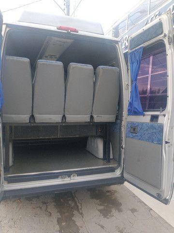 Ducato minibus teto alto executivo 2013  placa Mercosul - Foto 10