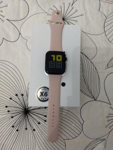 Smartwatch X6 (Faz e Recebe Chamadas) - Foto 3