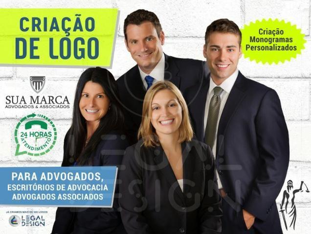 Criação de Logo para Advogados, Escritórios de Advocacia, Advogados Associados