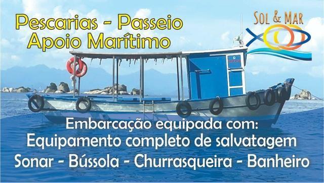 Traineira para Pescaria, Apoio Marítimo e Frete!