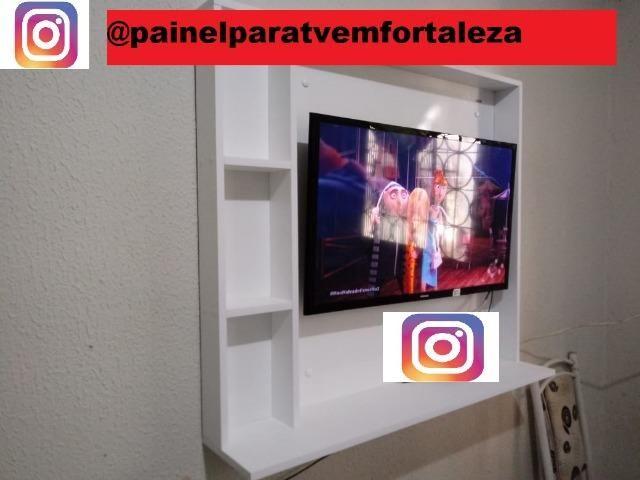 Promoção de painel para tv ,frete ,montagem e suporte gratis deixamos sua tv no painel - Foto 3