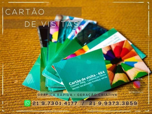 Cartão de visitas Verniz Localizado - Foto 5