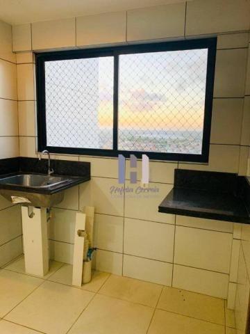 Apartamento com 3 dormitórios para alugar, 101 m² por r$ 2.800,00 - alecrim - natal/rn - Foto 18