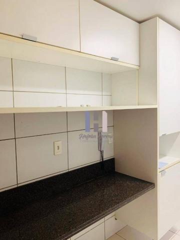 Apartamento com 3 dormitórios para alugar, 101 m² por r$ 2.800,00 - alecrim - natal/rn - Foto 15