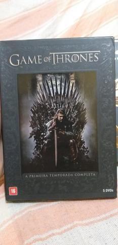 GOT temporadas 1,2,3 e 4