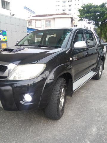 Hilux 2009 srv 3.0 4x4 aut. Diesel,Exc.estado, pneus novos e km bx - Foto 4