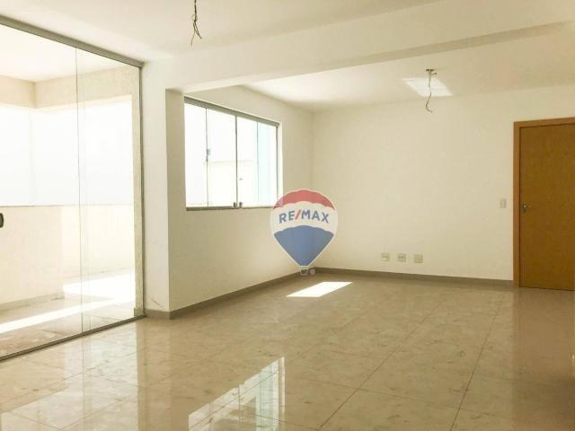 Apartamento garden com 4 dormitórios à venda, 130 m² por r$ 750.000,00 - buritis - belo ho