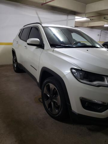 Jeep Compass 17/18 - Branco Perolado - Novíssimo - Foto 2