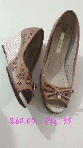 Sapatos em prefeito estado novos todos na caixa - Foto 5