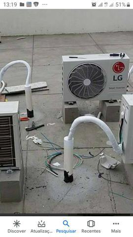Higienização de ar condicionados