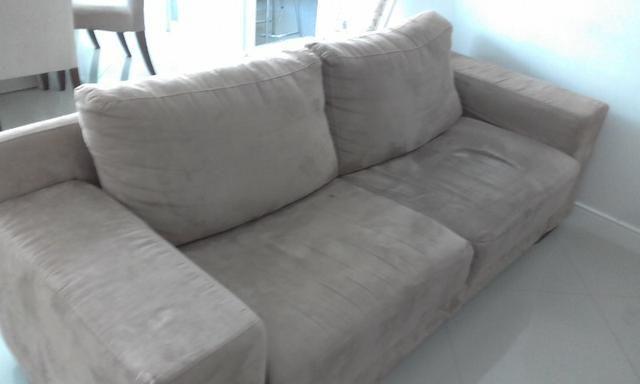 Sofá grande semi novo