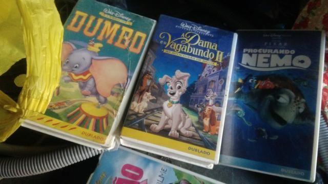 15 fitas VHS infantil original - Foto 2