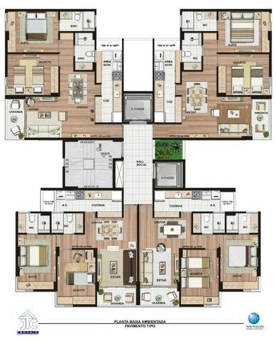 RS30 - Apartamento com 2 quartos em Piedade, poucos minutos da praia - Foto 3