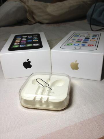 Iphone 5s Preto e Dourado Caixas Originais