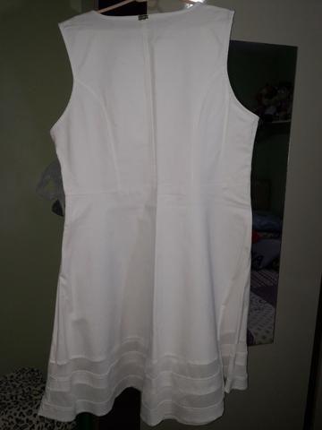 Vestido Branco Plus Size - Foto 3