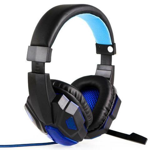Fone Headset Gamer C/ Led Microfone + Adaptador Celular 397 (Aceito Cartão) - Foto 4