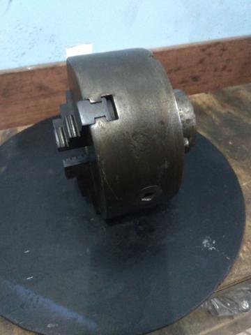 Placa de três castanhas para torno mecânico - Foto 2