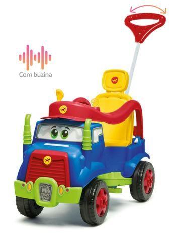 Carro de passeio Mk Truck Calesita Passeio e Pedal Em 12x de R$39,08 Sem Juros - Foto 4