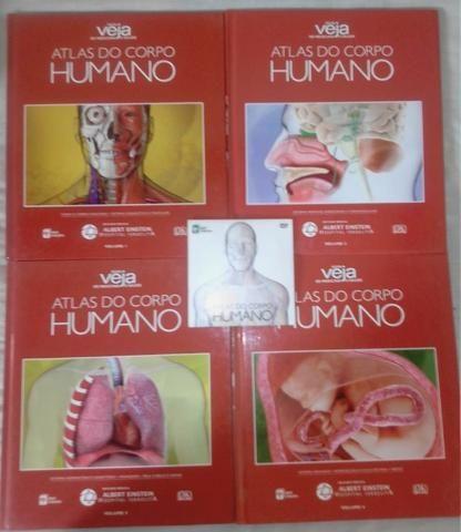 Atlas Do Corpo Humano - 4 Livros + Dvd Rom - Foto 5