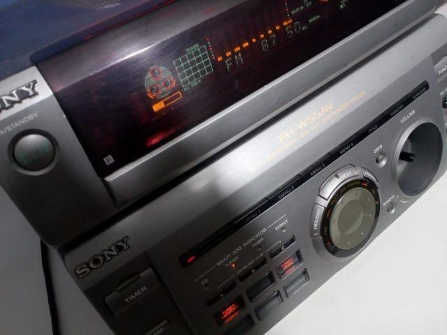 Micro System Sony Fh-w55av Receiver