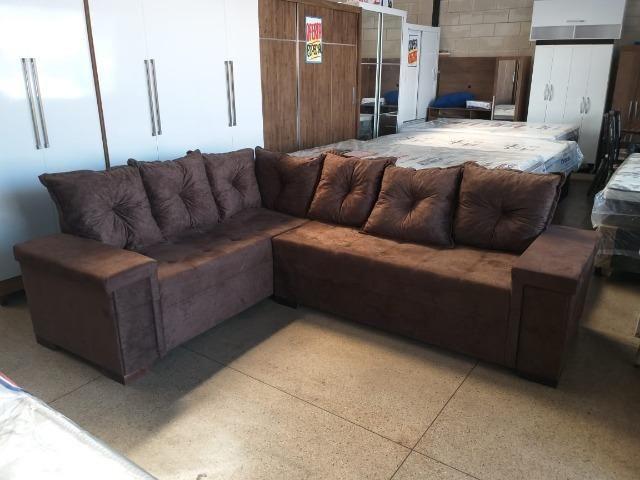 Sofa de canto super confortavel 2.60x2.00 apenas 799 a vista dinheiro