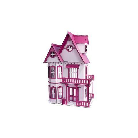 Casinha de Bonecas Escala Polly Modelo Mirian Sonhos - Darama - Nova - Foto 4
