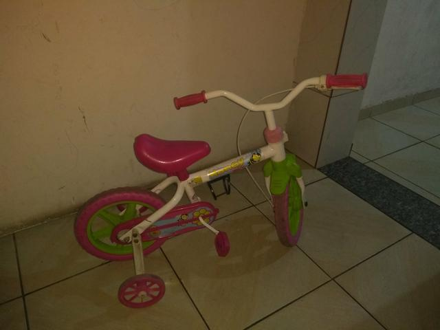 Bicicleta infantil aceito cartao